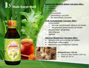 Madu Curcuma Alba juice B5